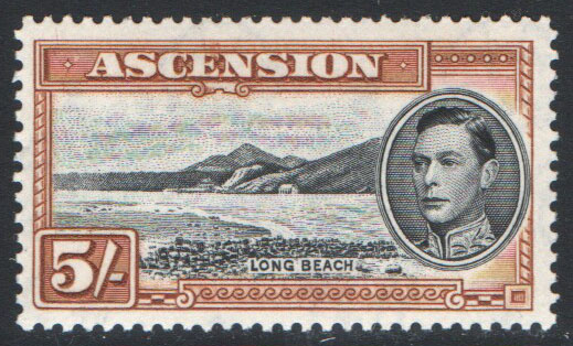 Ascension Scott 48 MNH (P)