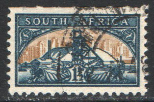 South Africa Scott 107a Used
