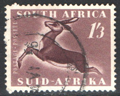 South Africa Scott 196 Used