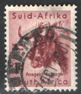 South Africa Scott 222 Used