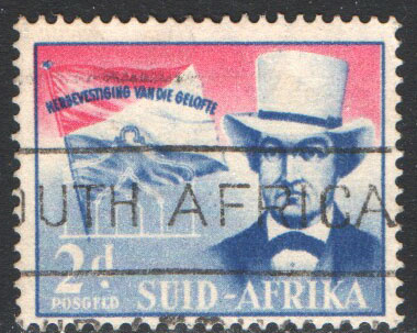South Africa Scott 216b Used
