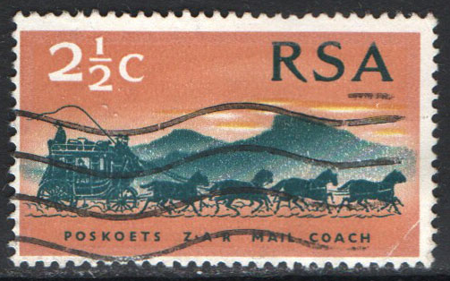 South Africa Scott 357 Used