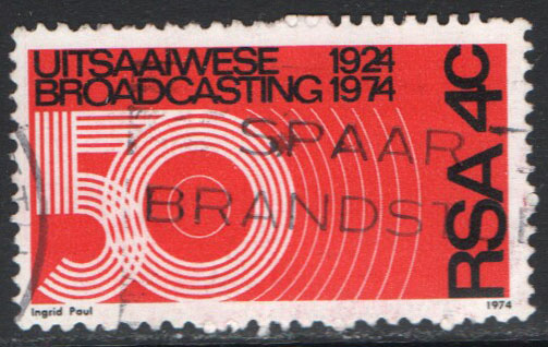 South Africa Scott 405 Used