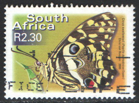 South Africa Scott 1193 Used