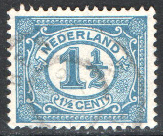 Netherlands Scott 57 Used