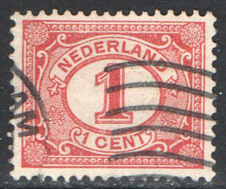 Netherlands Scott 56 Used