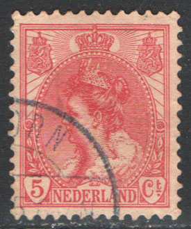Netherlands Scott 65 Used