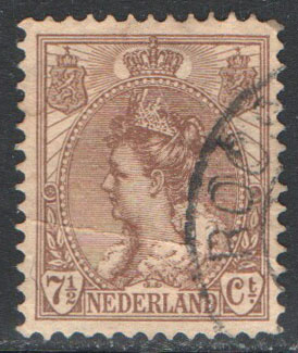 Netherlands Scott 66 Used