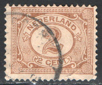 Netherlands Scott 59 Used
