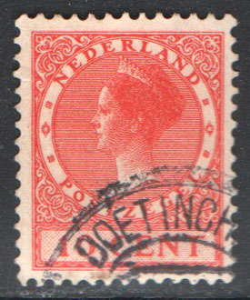 Netherlands Scott 151 Used