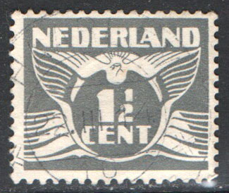Netherlands Scott 167 Used