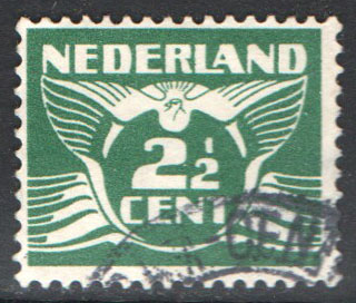 Netherlands Scott 169 Used