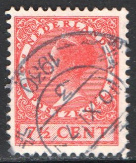 Netherlands Scott 175 Used
