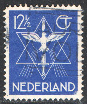 Netherlands Scott 200 Used