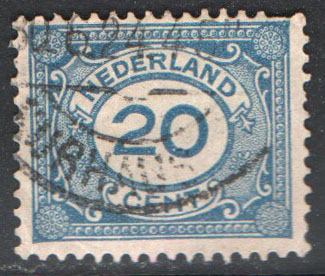 Netherlands Scott 109 Used