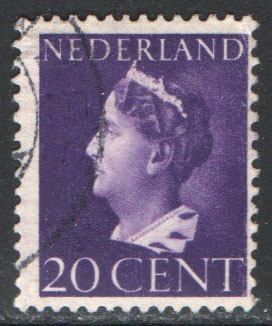 Netherlands Scott 221 Used