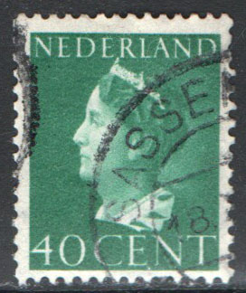 Netherlands Scott 225 Used