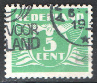 Netherlands Scott 243C Used
