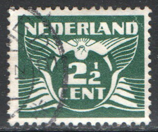 Netherlands Scott 243A Used