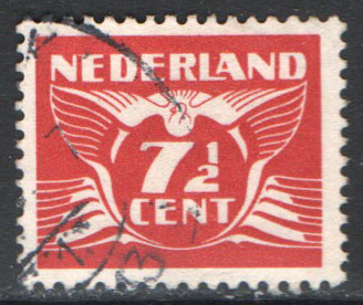 Netherlands Scott 243E Used