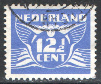 Netherlands Scott 243H Used