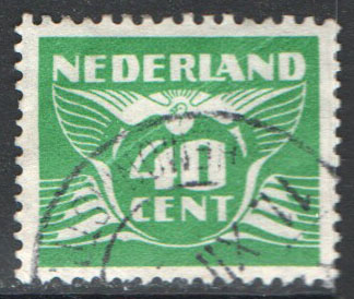 Netherlands Scott 243P Used