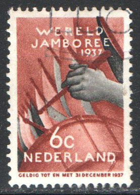 Netherlands Scott 207 Used