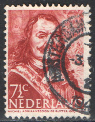 Netherlands Scott 252a Used