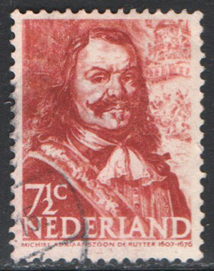 Netherlands Scott 252 Used