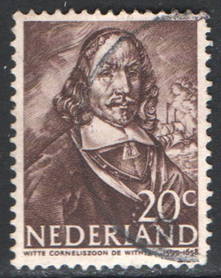 Netherlands Scott 257 Used