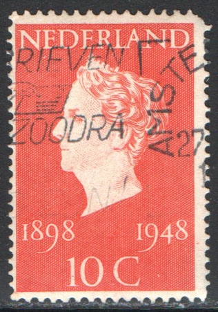Netherlands Scott 302 Used