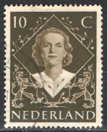 Netherlands Scott 304 Used