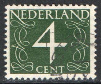 Netherlands Scott 285 Used