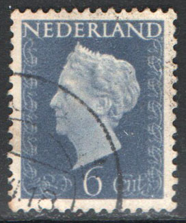 Netherlands Scott 301 Used