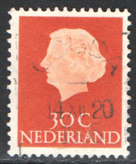 Netherlands Scott 349 Used