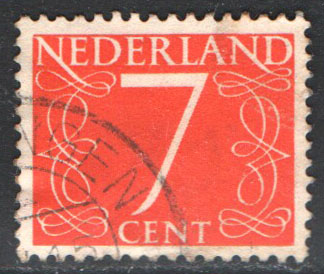 Netherlands Scott 343 Used
