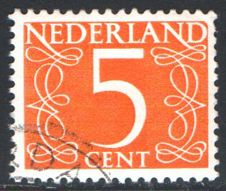 Netherlands Scott 405 Used