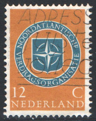 Netherlands Scott 377 Used