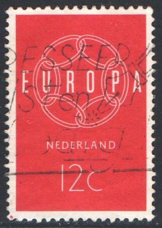 Netherlands Scott 379 Used