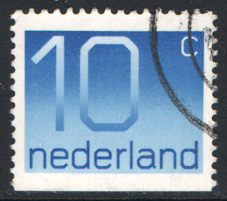 Netherlands Scott 537as Used