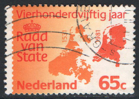 Netherlands Scott 615 Used