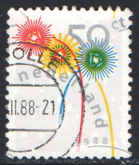 Netherlands Scott 739 Used