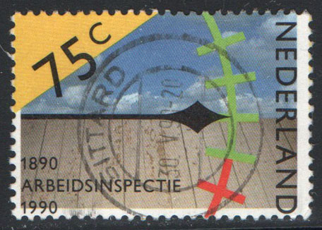 Netherlands Scott 753 Used