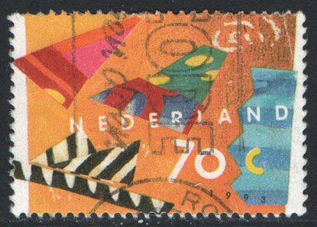 Netherlands Scott 823 Used