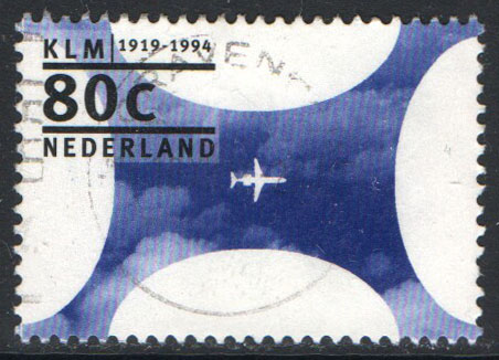 Netherlands Scott 857 Used