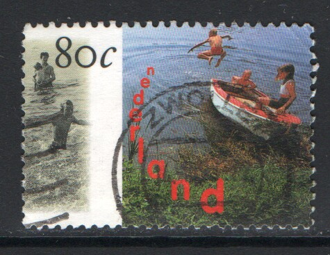 Netherlands Scott 967 Used