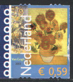 Netherlands Scott 1140 Used