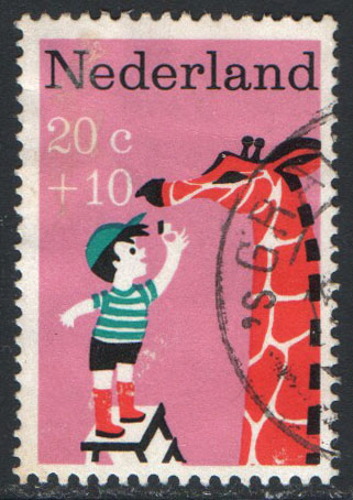 Netherlands Scott B431 Used