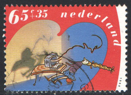 Netherlands Scott B654 Used