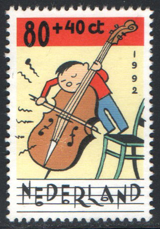 Netherlands Scott B670a Used